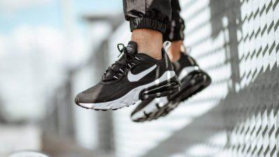 Nike Air Max 270 React Black White